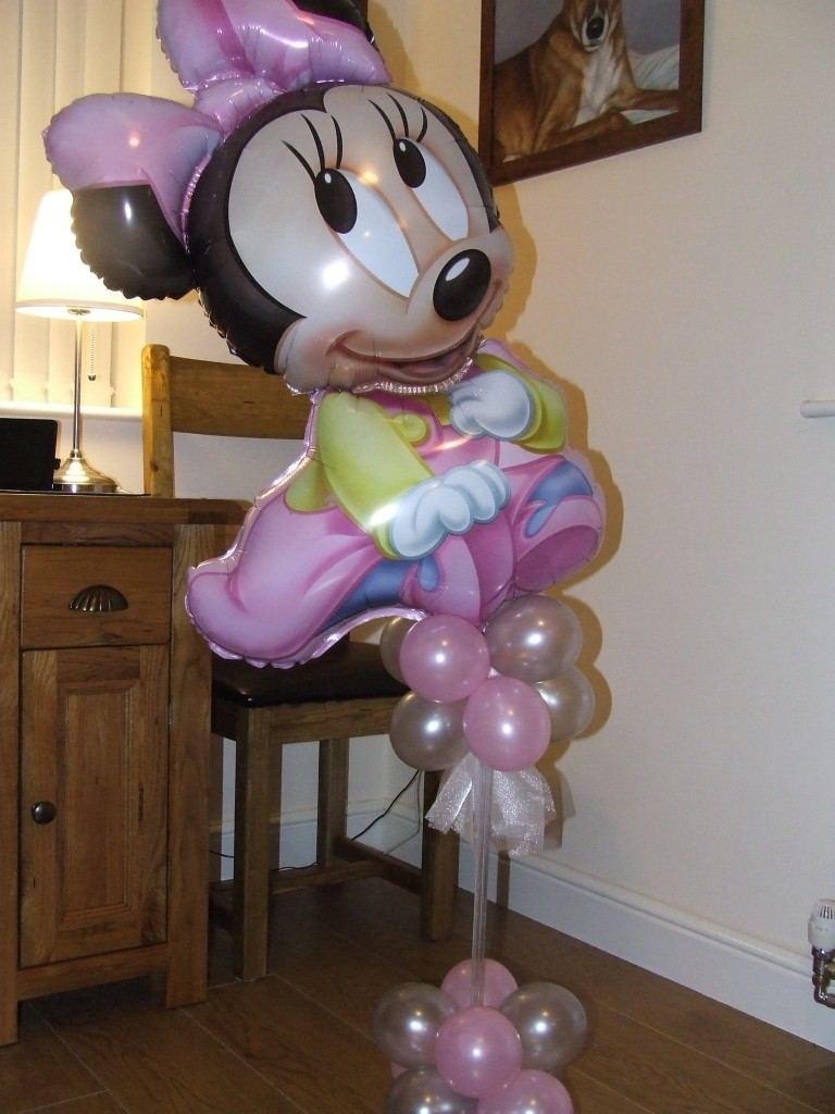 Minnie mouse topiary flowerandballooncompany
