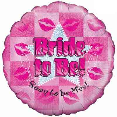 Bride To Be- Helium Filled Balloon