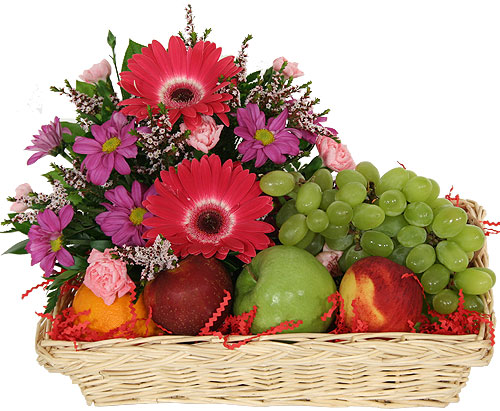 Wonderful FRUIT U0026 FLOWER BASKET
