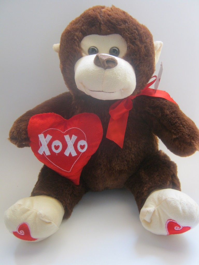 Plush Brown Teddy Monkey