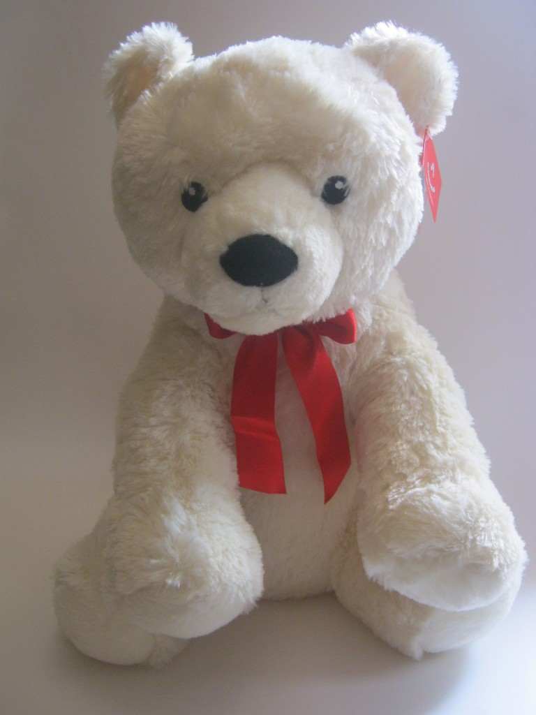 Plush Big White Teddy