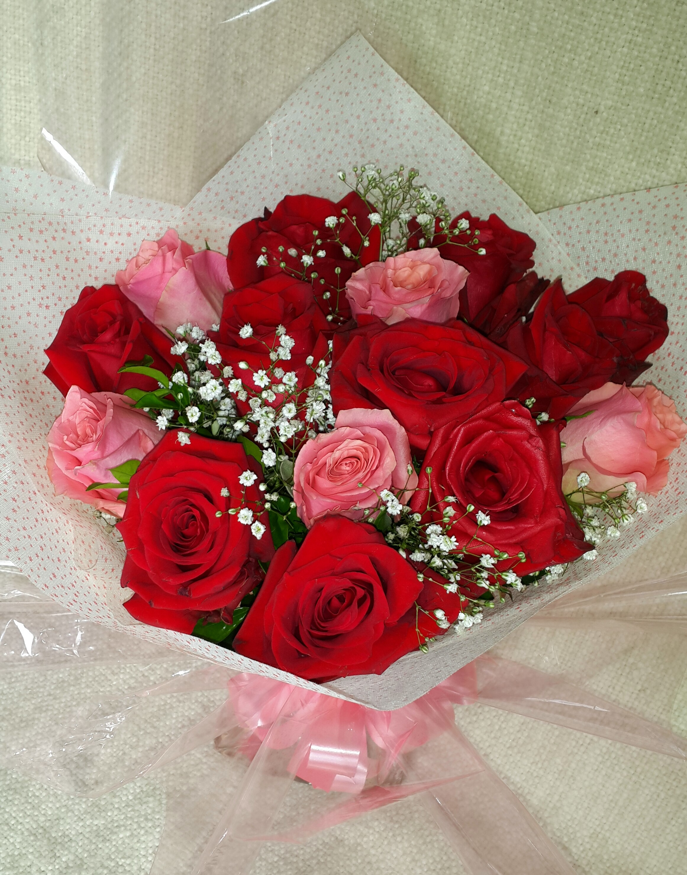Flowerandballooncompany Blog Archive 15 Red Pink Roses