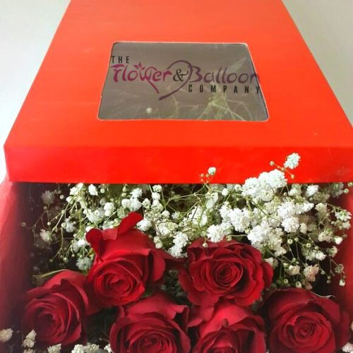 Roses in the Box, Birthday,Anniversary,Valentines Day and More