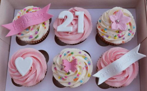 Celebration Cupcake gift