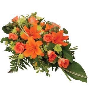 Roses & Lilies Sheaf
